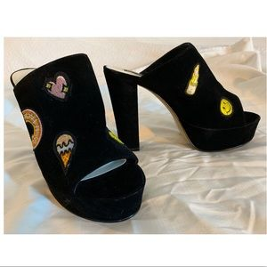 Micheal Antonio patch heels